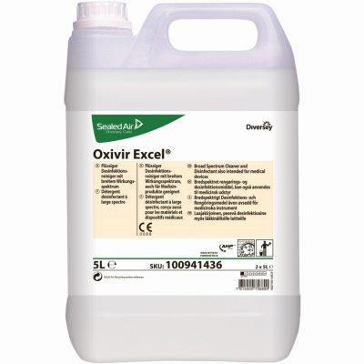 DI Oxivir Excel Conc hidrogén-peroxid alapú, folyékony tisztító-, fertőtlenítőszer koncentrátum 5 liter