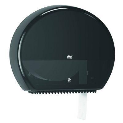 Tork Jumbo toalettpapír-adagoló, fekete