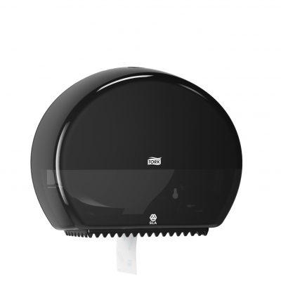 Tork Mini Jumbo toalettpapír-adagoló, fekete