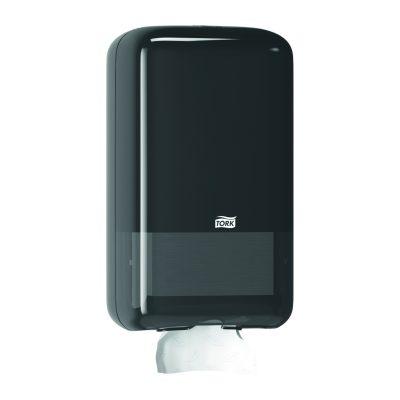 Tork Folded toalettpapír-adagoló fekete