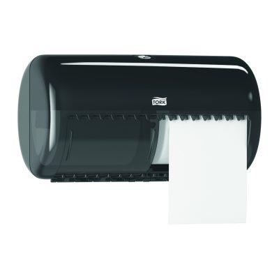 Tork kistekercses toalettpapír adagoló fekete