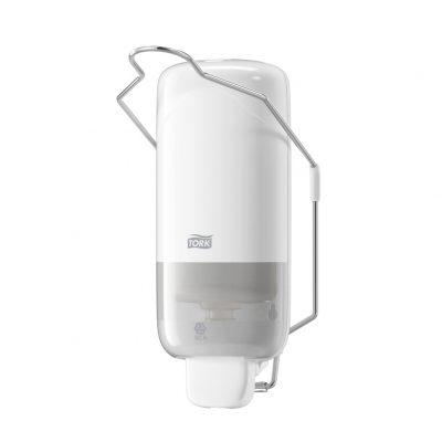 Tork folyékonyszappan-adagoló – könyökkaros fehér