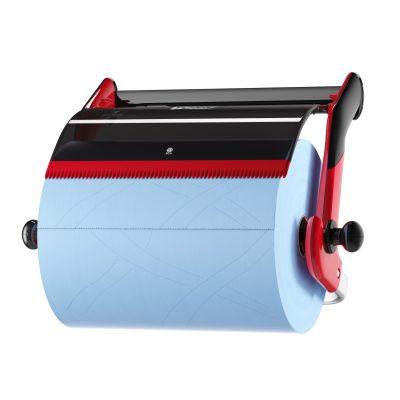 Tork fali állvány piros/fekete