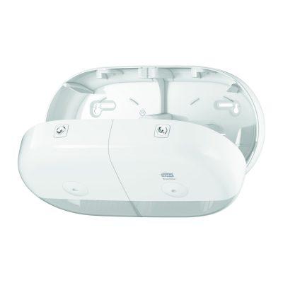 Tork SmartOne® Mini dupla tekercses toalettpapír-adagoló fehér
