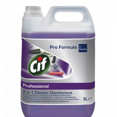 Cif Professional 2in1 Cleaner Disinfectant Conc 5 liter