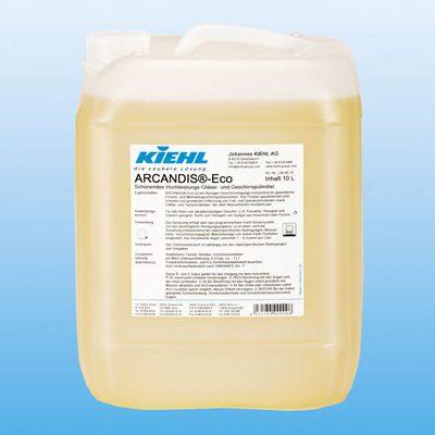 Kiehl ARCANDIS®-Eco 10 literes kimélő mosogatószer üvegpoharak és evőeszközök számára