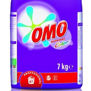 Omo Color mosópor színes textíliákhoz 7 kg