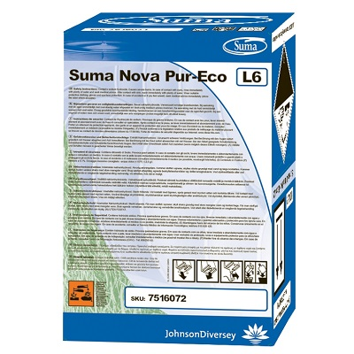Diversey Suma Nova Pur-Eco L6 folyékony gépi mosogatószer 10 liter