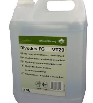 Divodes FG általános fertőtlenítőszer műszak közbeni- és záró fertőtlenítésre