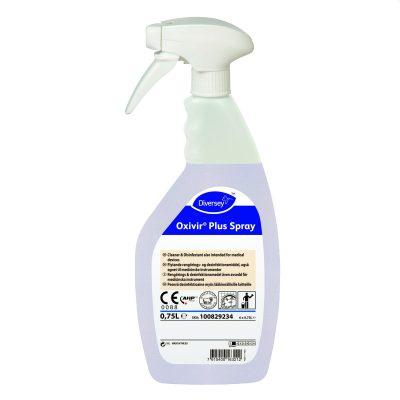 Diversey Oxivir Plus Spray 750 ml tisztító- és fertőtlenítőszer