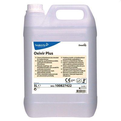 Diversey Oxivir Plus 5 literes tisztító- és fertőtlenítőszer