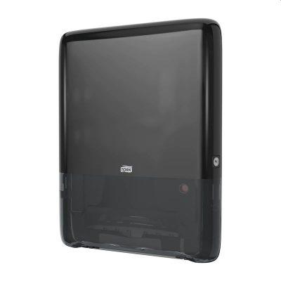 Tork PeakServe® mini folyamatos® adagolású kéztörlőpapír-adagoló fekete