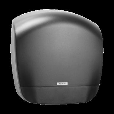 Katrin Mini Jumbo ( Giant S ) toalettpapír-adagoló, fekete