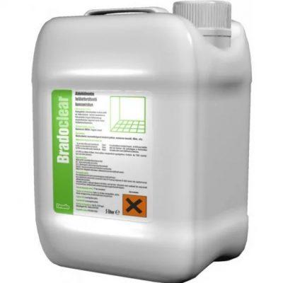 Bradoclear 5literes aldehidmentes felületfertőtlenítő