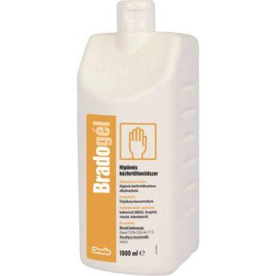 Bradogél 1000ml pumpás higiénés kézfertőtlenítő gél