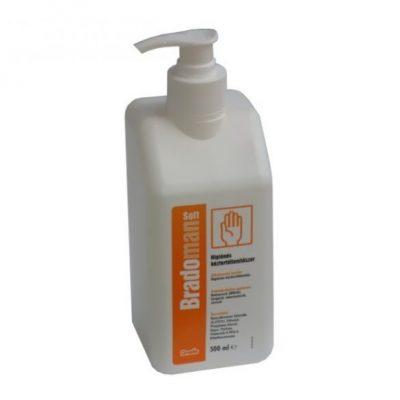 Bradoman soft 500ml higiénés kézfertőtlenítőszer pumpás