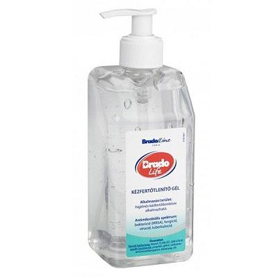 Bradolife 500 ml kézfertőtlenítő gél