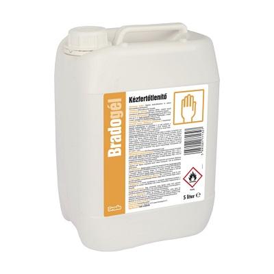 Bradogél 5 literes higiénés kézfertőtlenítő gél