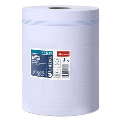 Tork Reflex™ törlőpapír plusz 473391 kék
