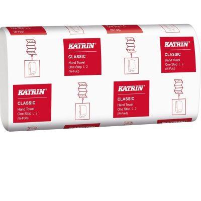 Katrin Classic Kéztörlőpapír One stop rendszer 2 rétegű