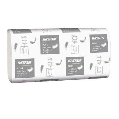 Katrin Plus kéztörlőpapír One stop 3 rétegű